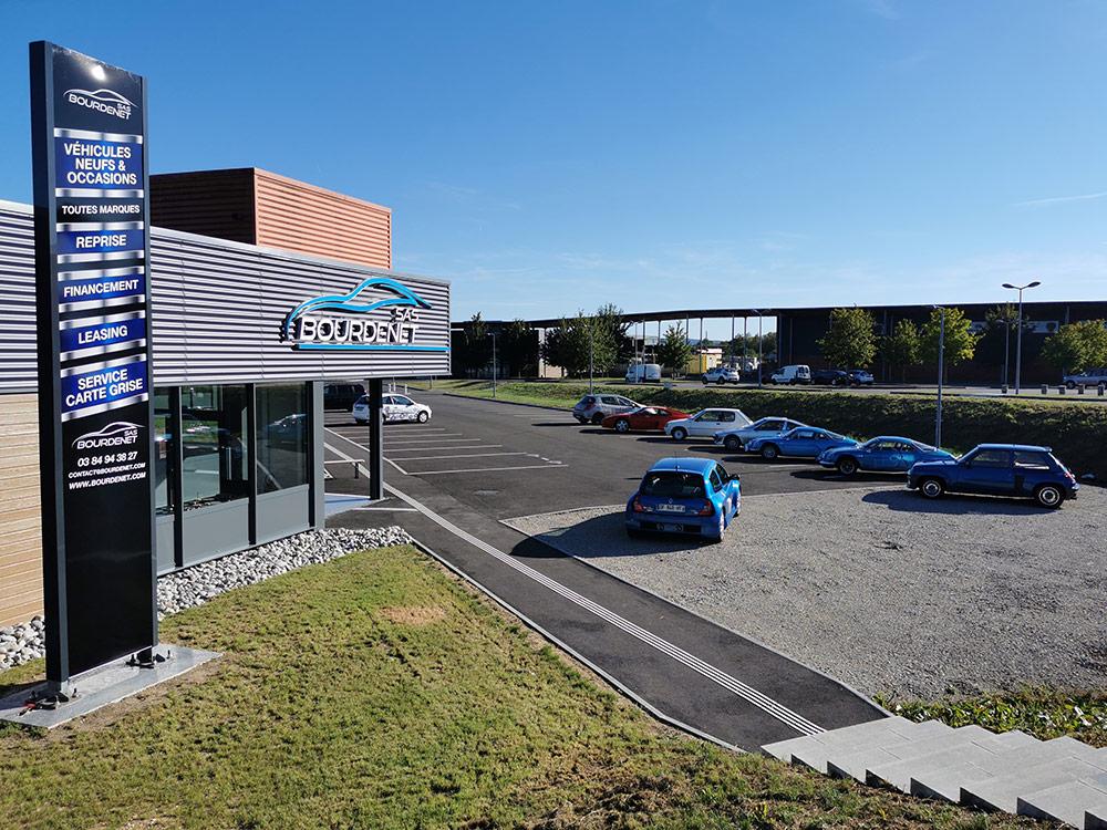 SAS Bourdenet à Luxeuil les Bains (70) - Vente de véhicules neufs et occasions